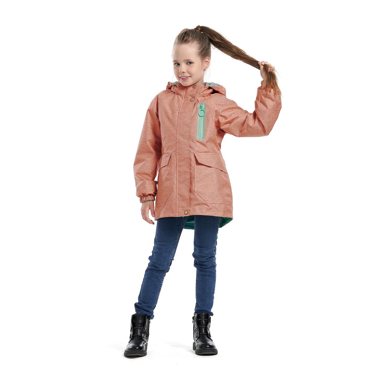 Купить Куртка ветровка для детей Олдос AOSS21JK2T010 коралловый 110, Oldos,