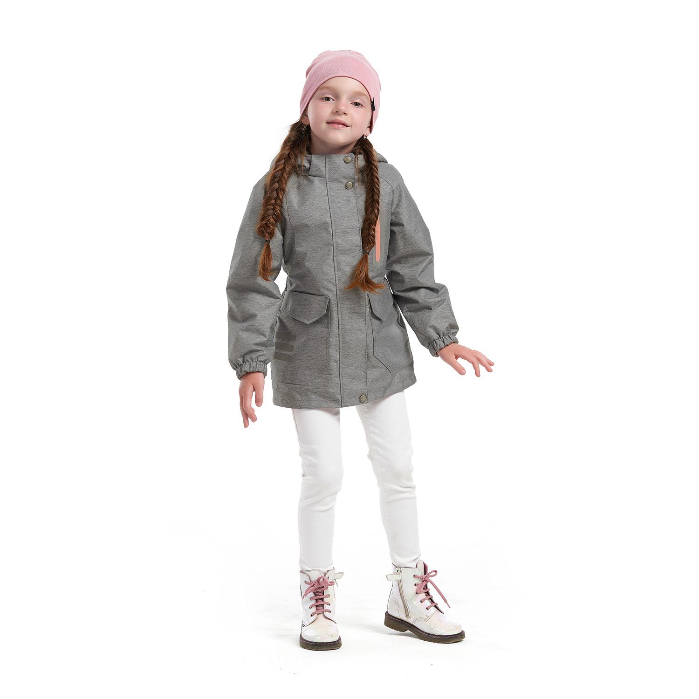 Купить Куртка ветровка для детей Олдос AOSS21JK2T010 серый 110, Oldos,