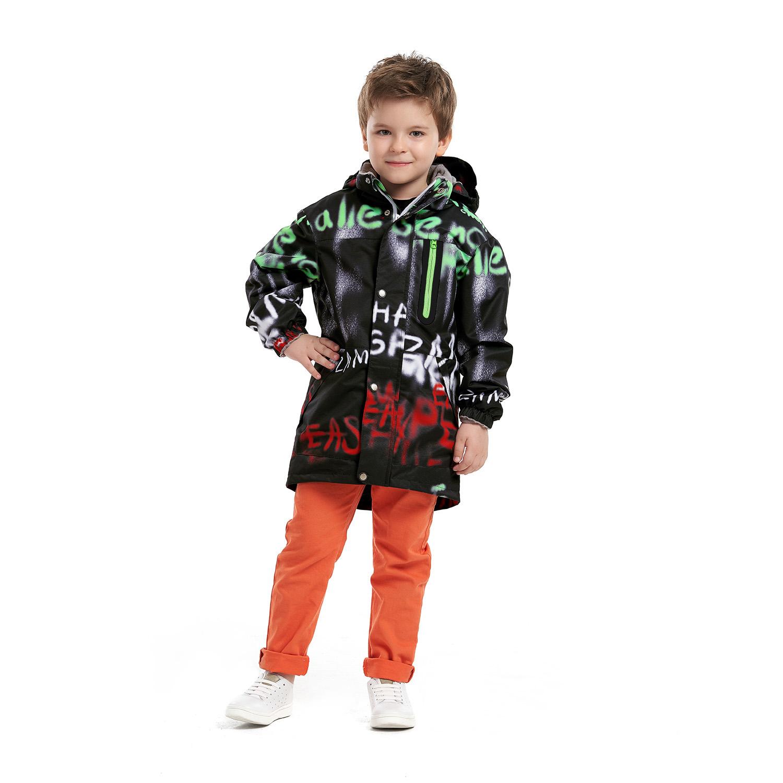 Купить Куртка ветровка для детей Oldos AOSS21JK1T017 черный 98,