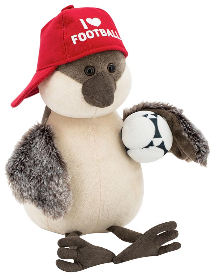 Купить Мягкая игрушка Orange Воробей Чирик Футбол, 20 см, Orange Toys, Мягкие игрушки птицы