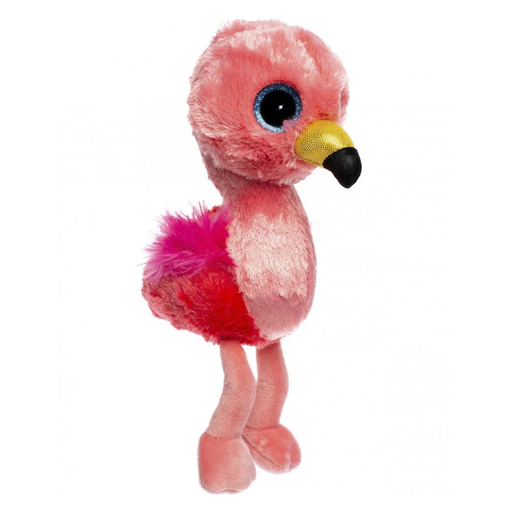 Купить Мягкая игрушка Ty Inc Гилда фламинго розовый, 25 см,