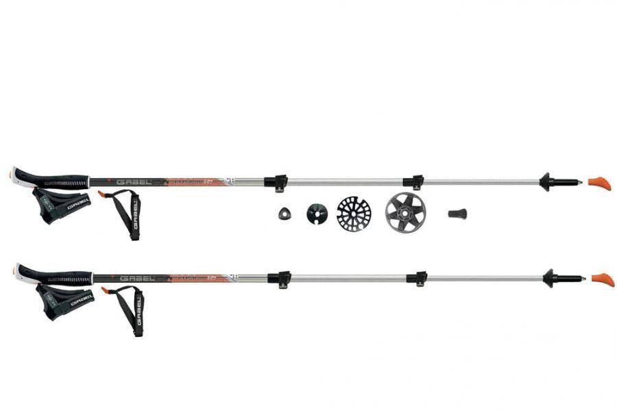 Палки для скандинавской ходьбы Fusion XT Gabel