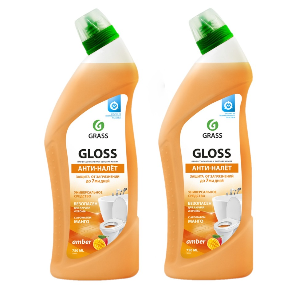 Чистящий гель для ванны и туалета Glossamber