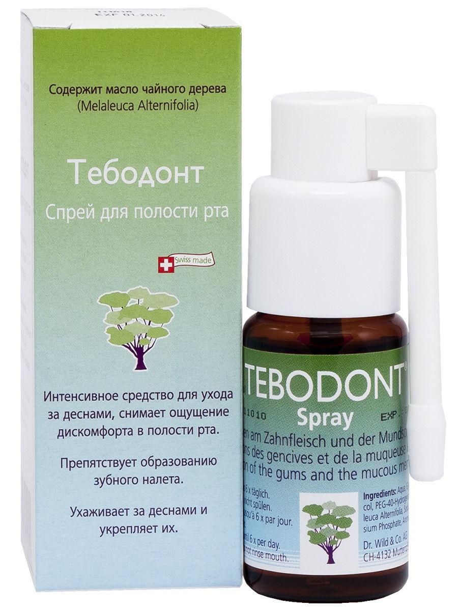 Dr. Wild Спрей для полости рта Тебодонт