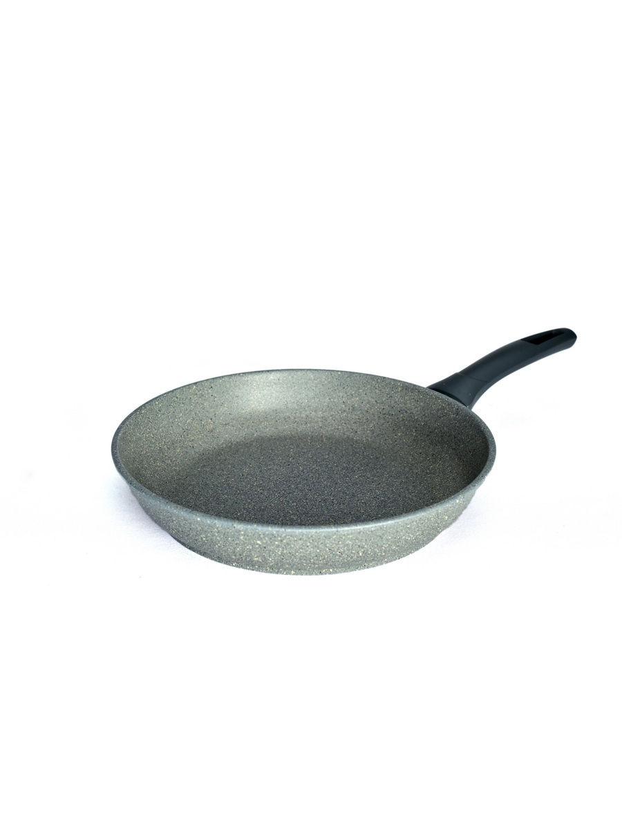 Сковорода Victoria Мрамор литая толстостенная с антипригарным