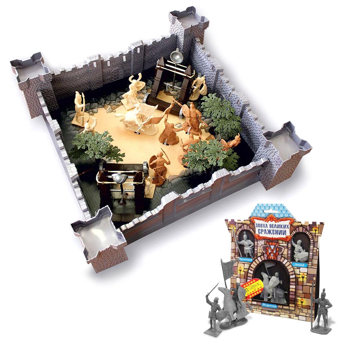 Купить Игровой набор 1291 Год взятия крепости 12062 + Эпоха Великих Сражений Крестоносцы №1 12058, Биплант,