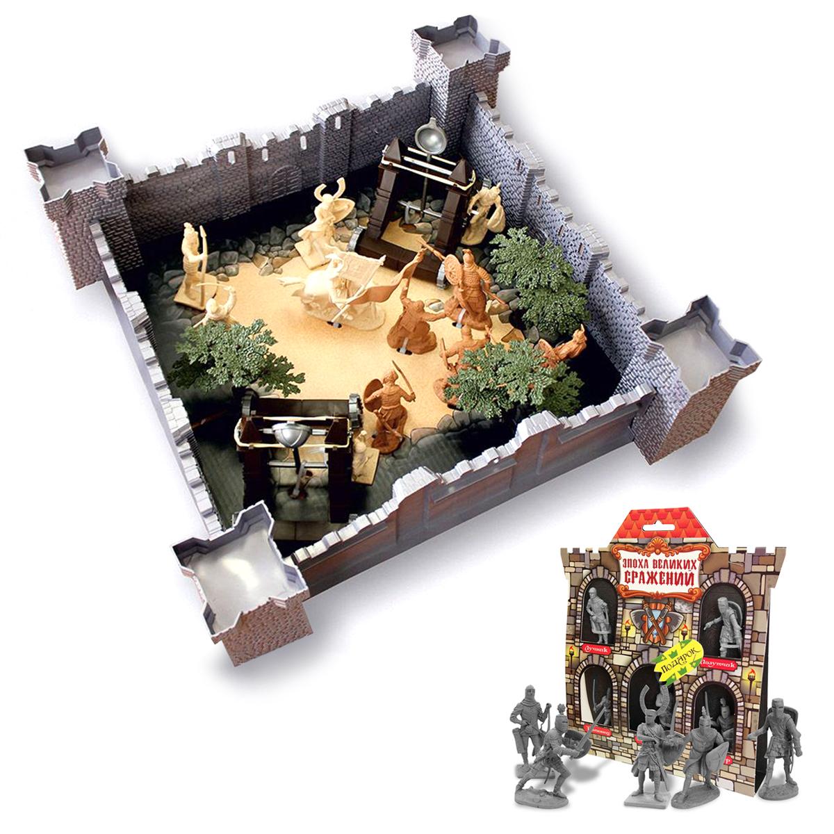 Купить Игровой набор 1291 Год взятия крепости 12062 + Эпоха Великих Сражений Крестоносцы №2 12059, Биплант,