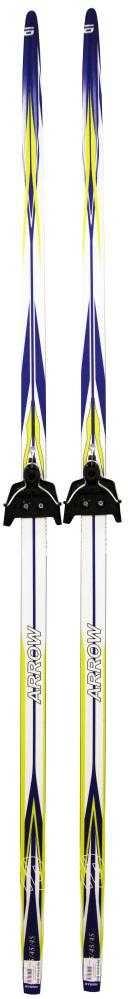 Лыжный комплект Arrow blue, Крепление: 75мм, wax (без палок) (180) по цене 1 799