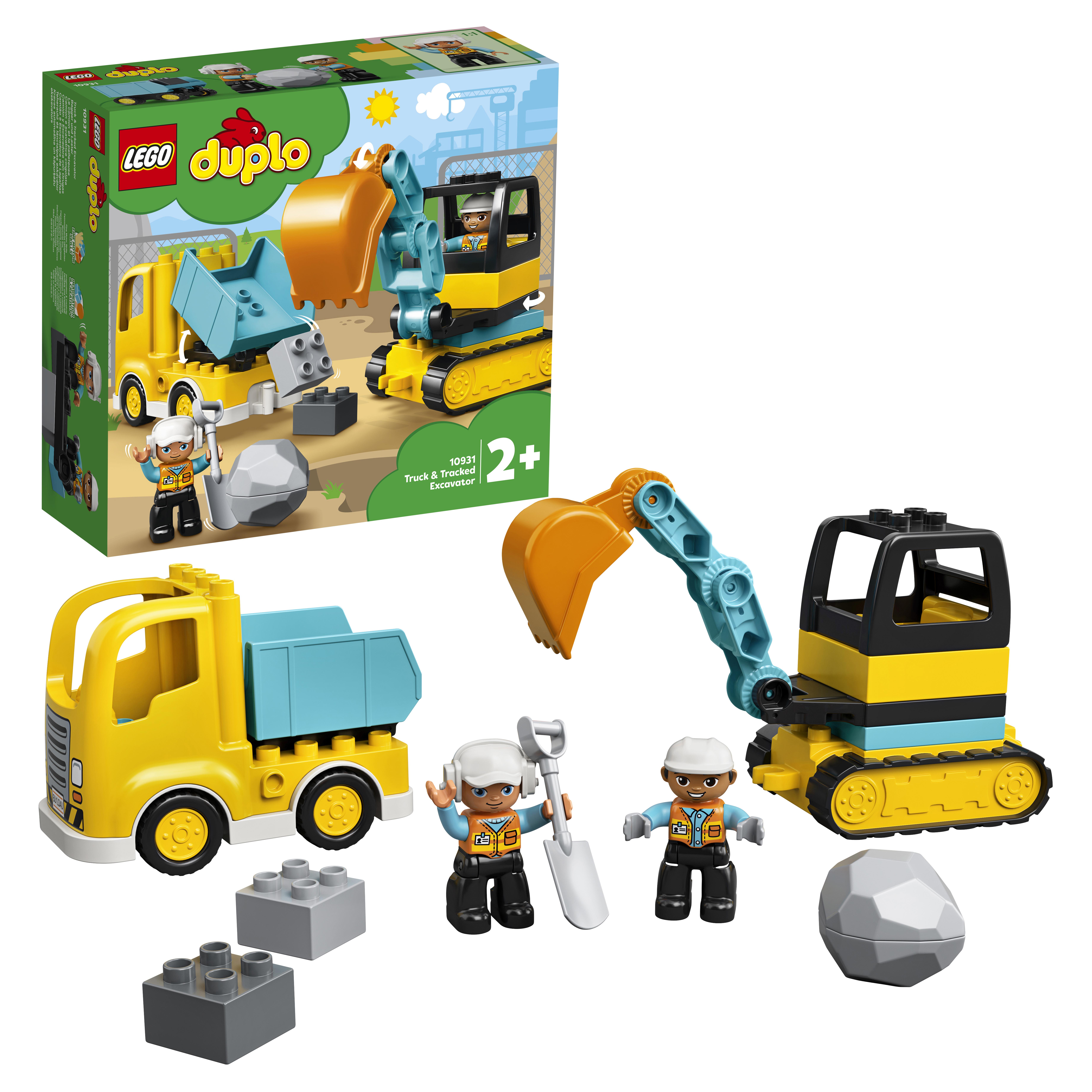 Конструктор LEGO DUPLO Town 10931 Грузовик