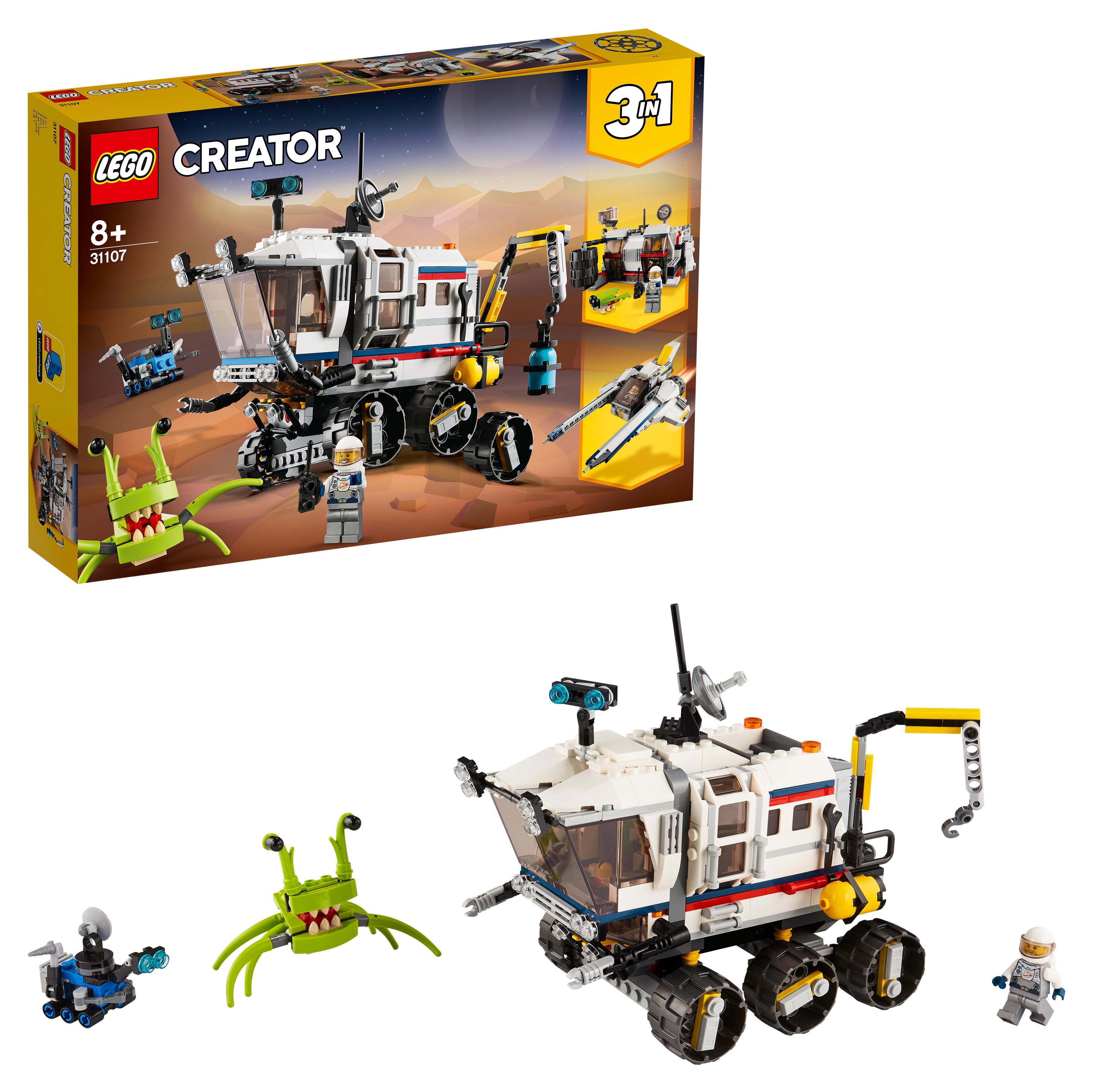 Конструктор LEGO Creator 31107 Исследовательский планетоход