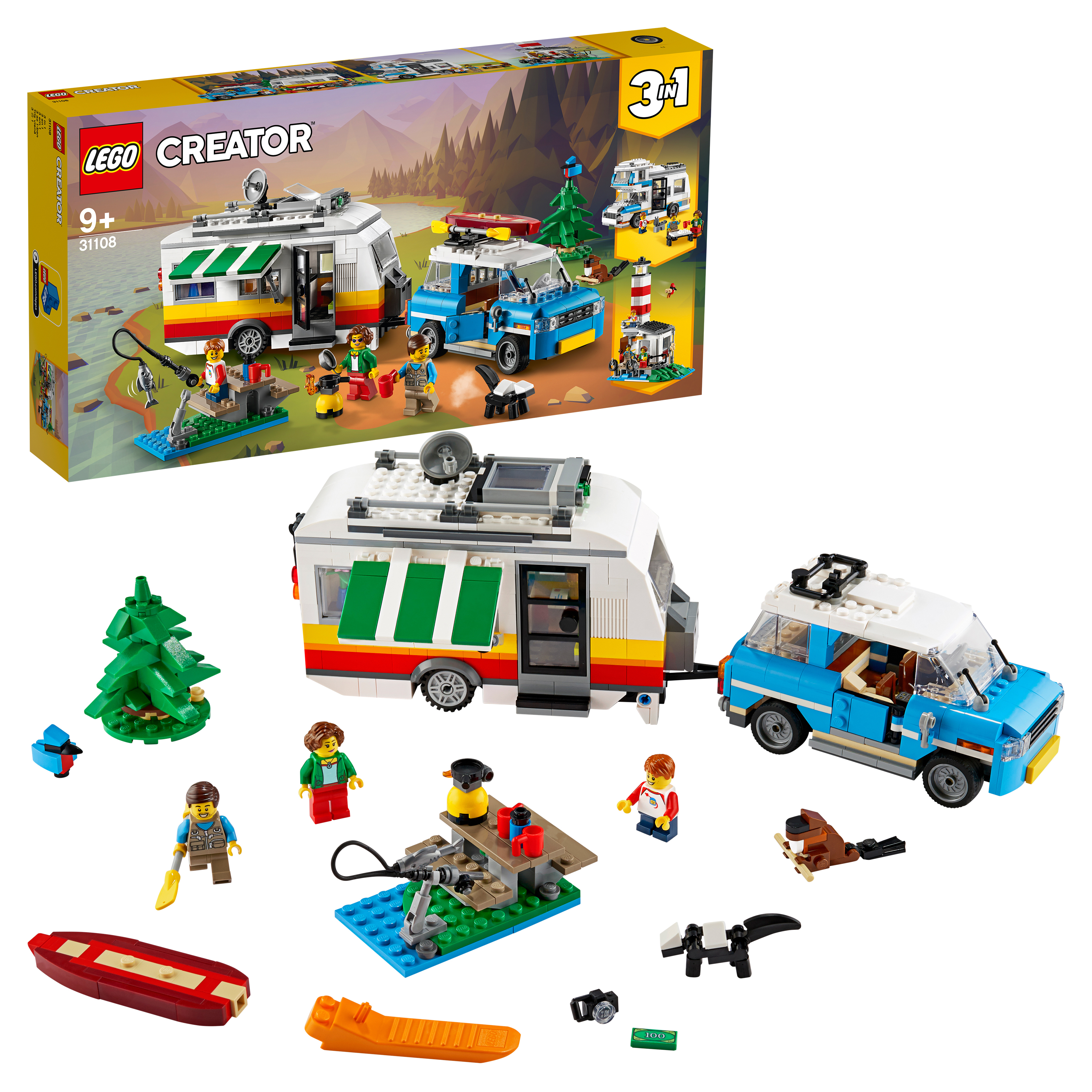 Конструктор LEGO Creator 31108 Отпуск в доме