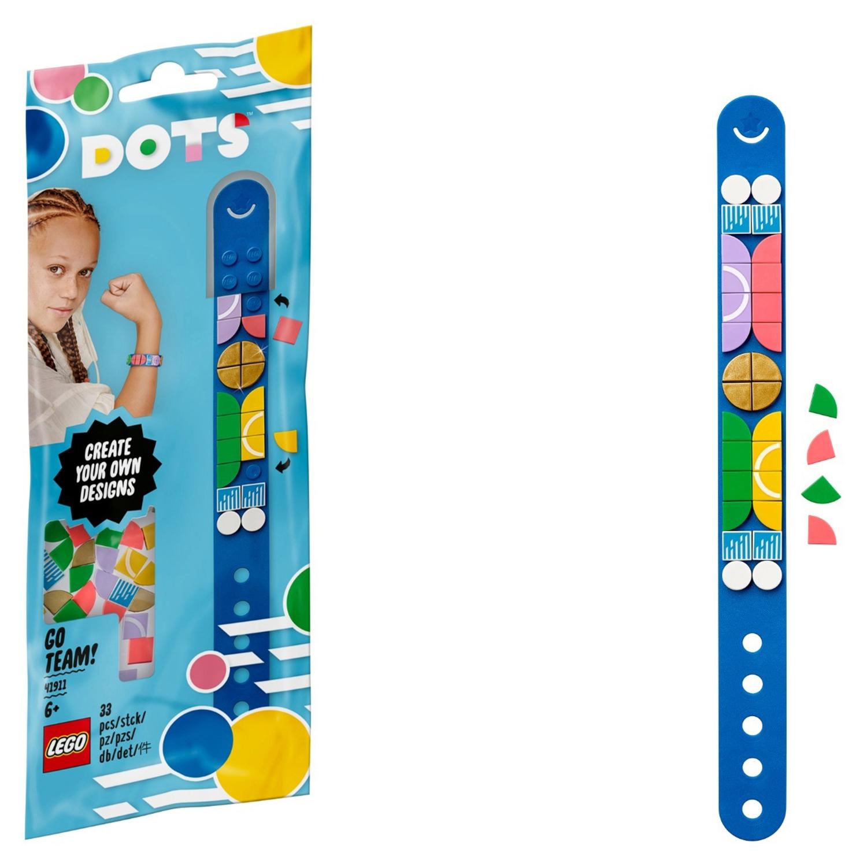 Купить Набор для творчества LEGO DOTS 41911 Браслет Чемпионки,