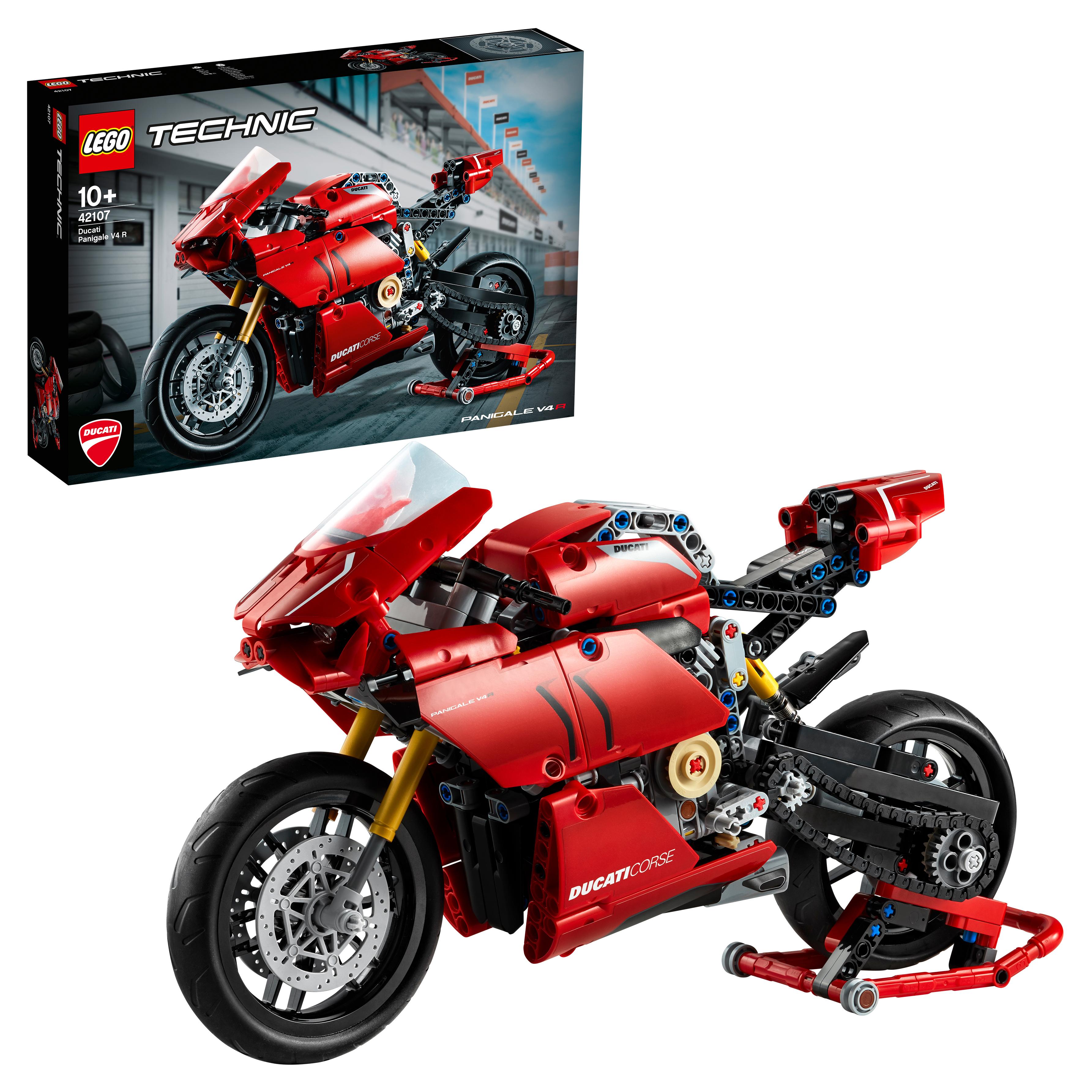 Конструктор LEGO Technic 42107 Ducati Panigale