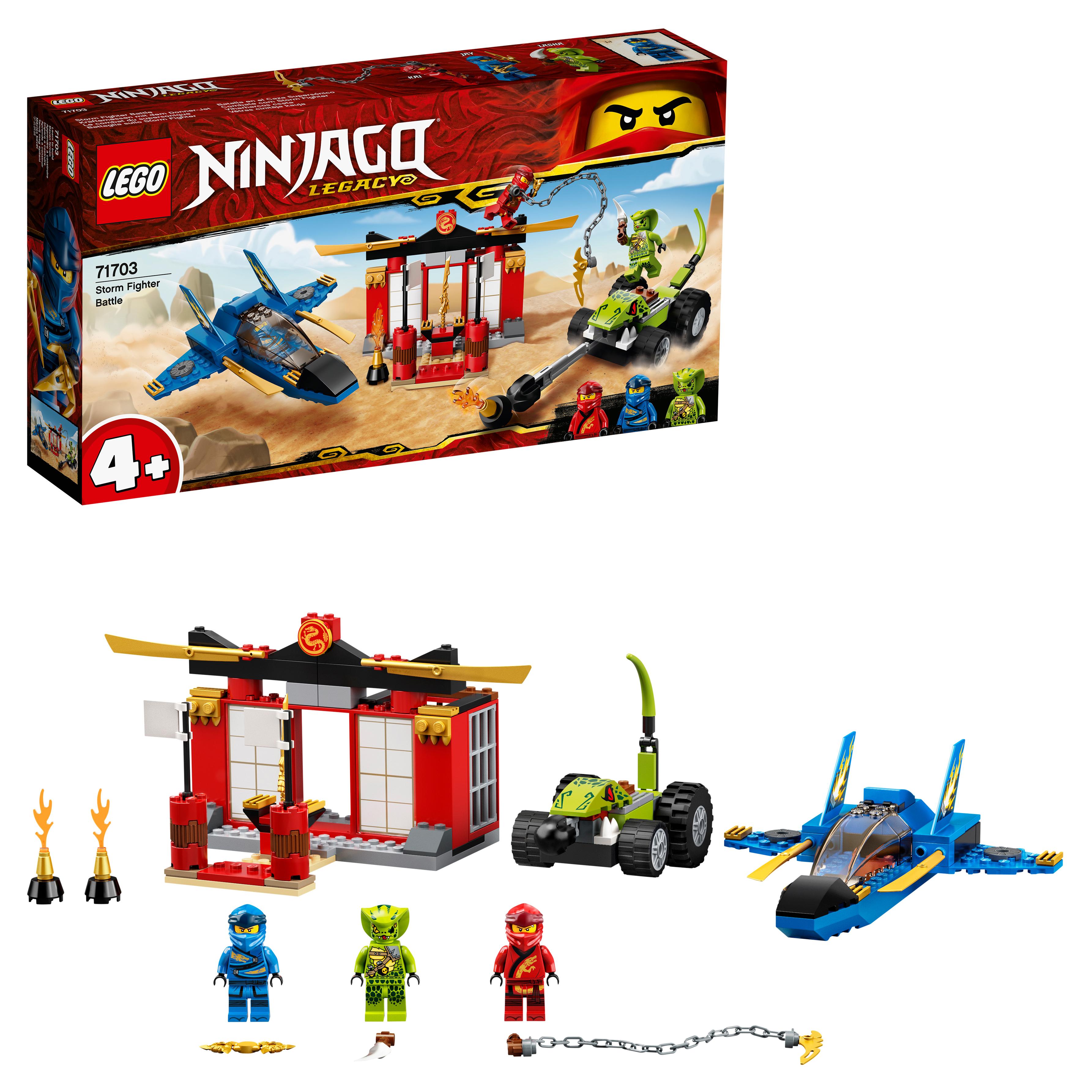 Конструктор LEGO NINJAGO 71703 Бой на штормовом