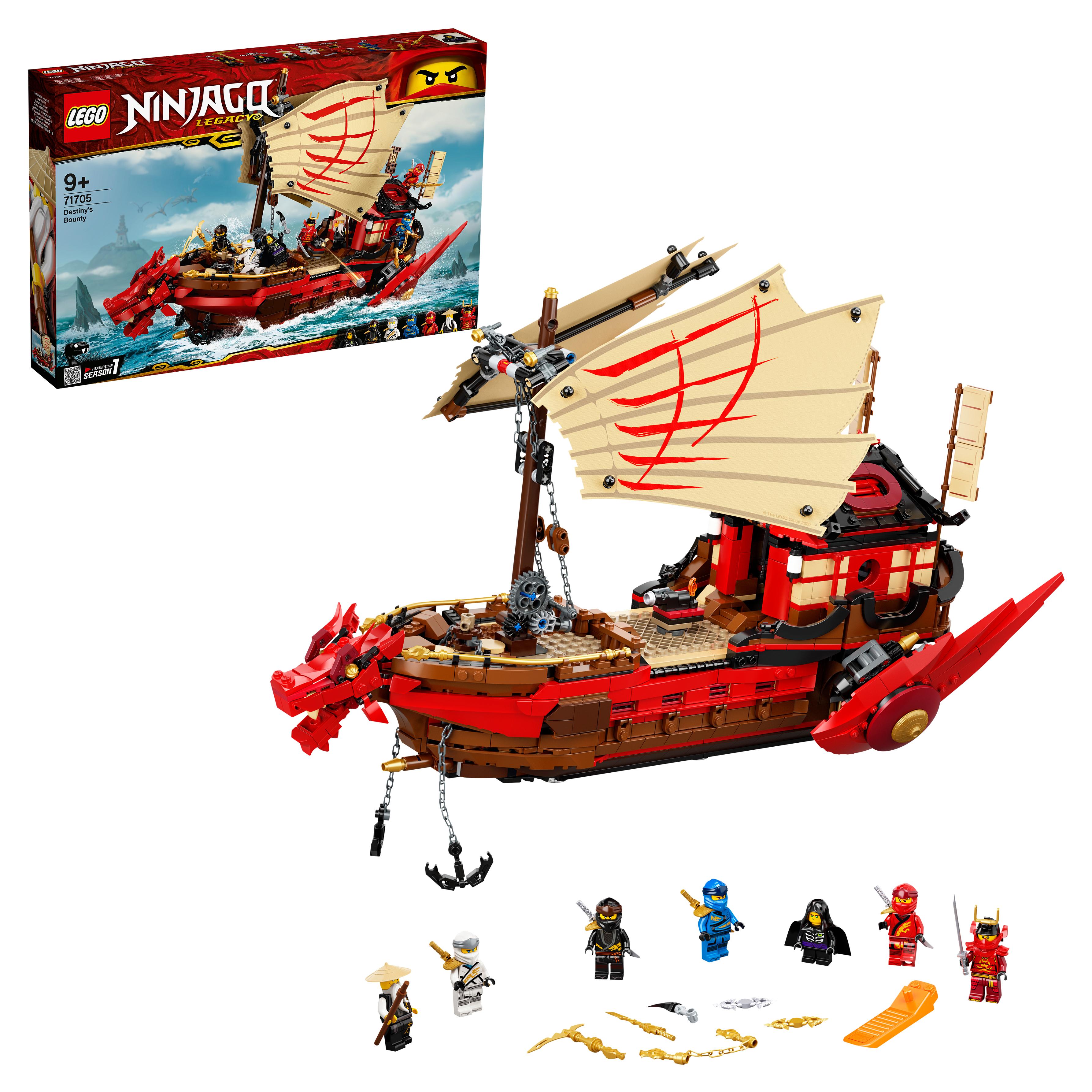 Конструктор LEGO NINJAGO 71705 Летающий корабль Мастера
