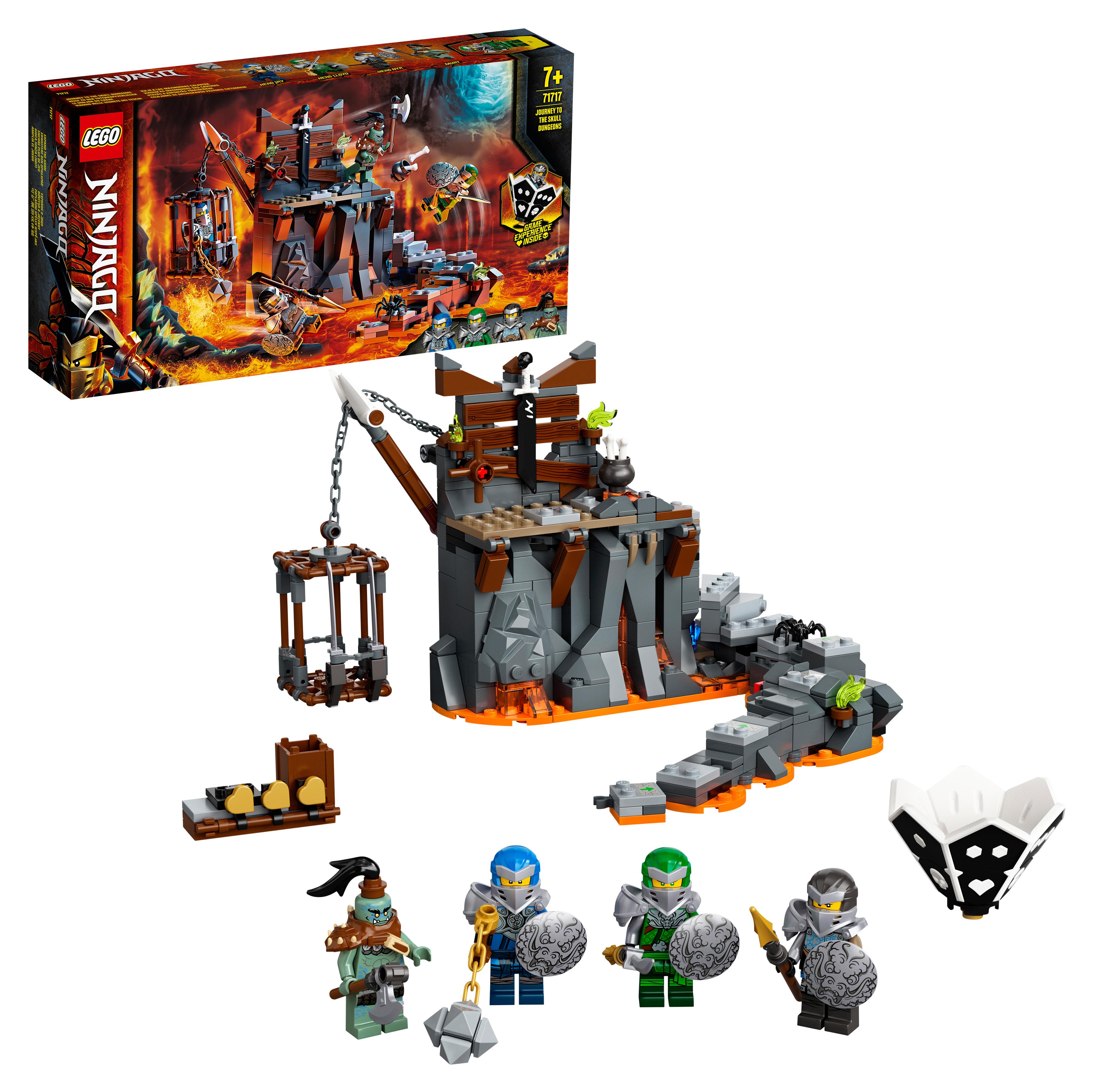 Конструктор LEGO NINJAGO 71717 Путешествие в Подземелье