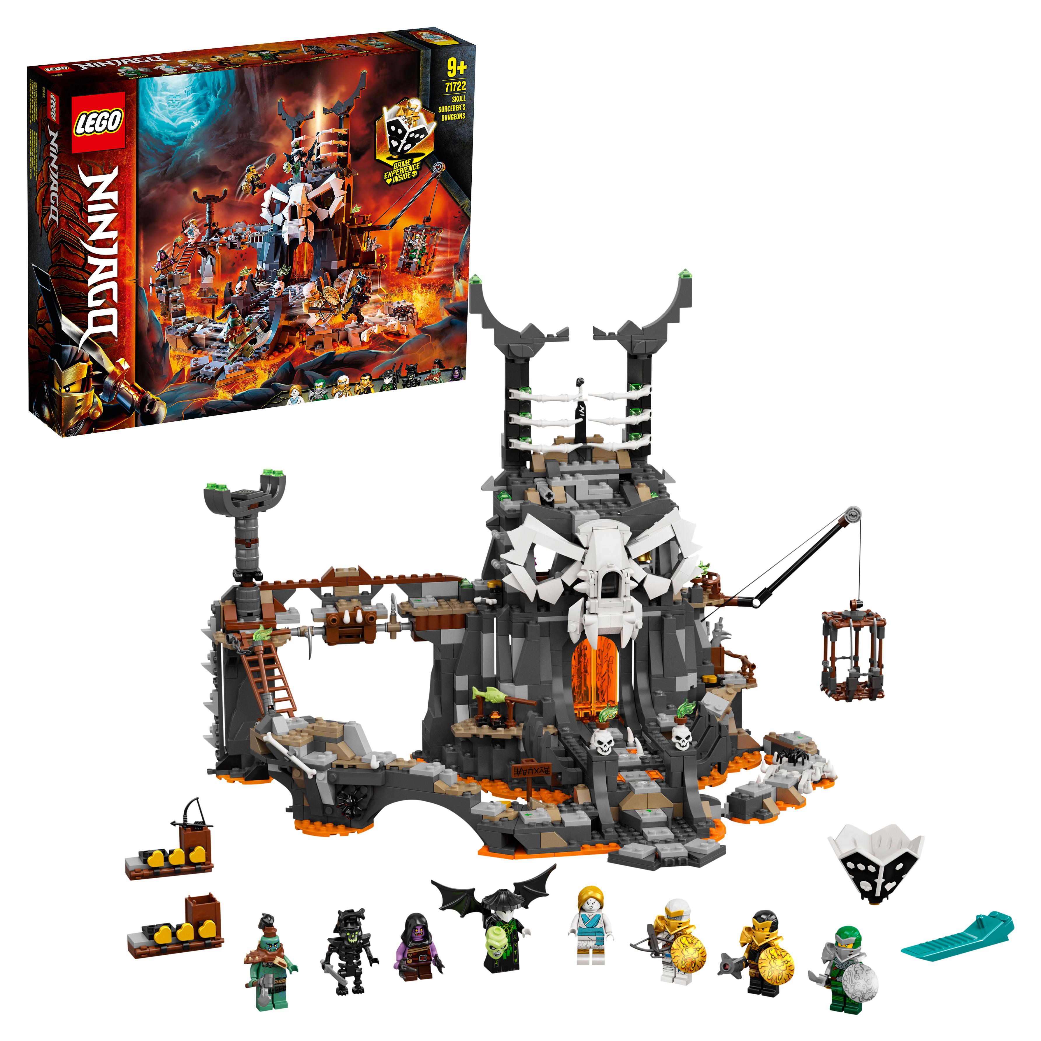 Конструктор LEGO NINJAGO 71722 Подземелье колдуна скелета