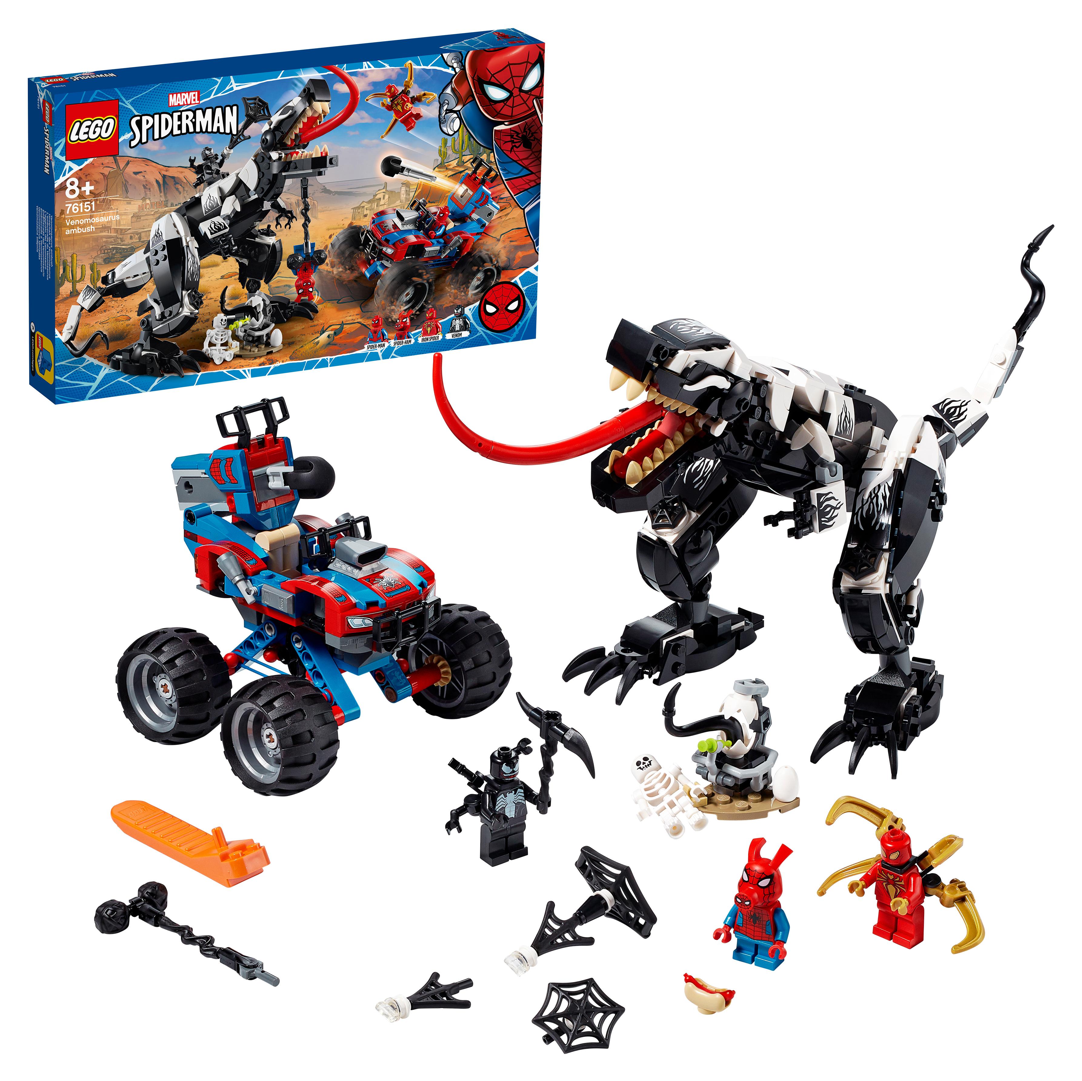 Конструктор LEGO Marvel Super Heroes 76151 Человек