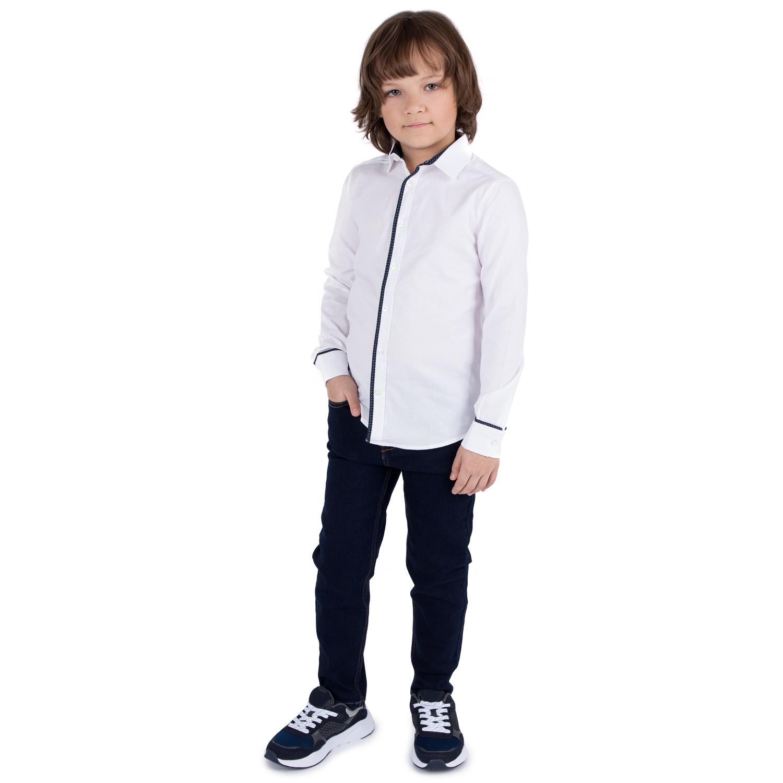 Рубашка для детей Leader Kids Imperator/L белый 140