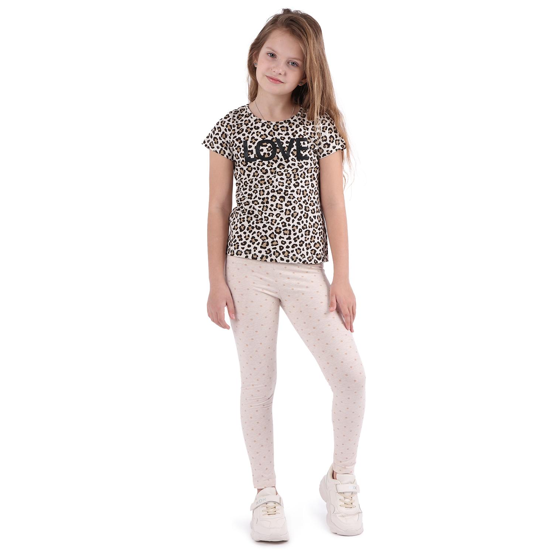 Леггинсы для детей Leader Kids ЛКЛ21215310146ку02У бежевый 146
