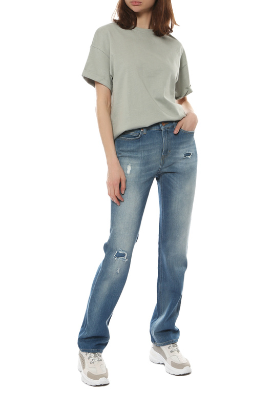 Джинсы женские Escada 50251410434 голубые 38