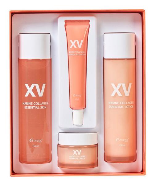Купить Набор косметики для лица Esthetic House Marine Collagen Essential Skin Care Set