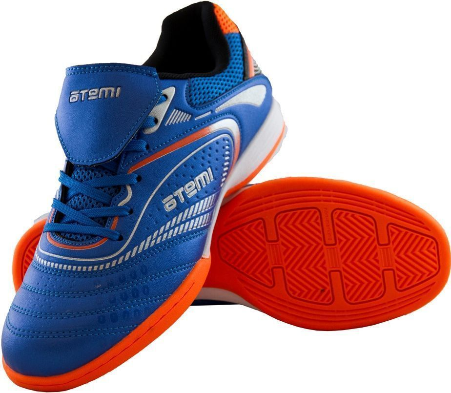 Бутсы Atemi SD300 Indoor, голубой/оранжевый, 44 RU SD300 Indoor по цене 1 475