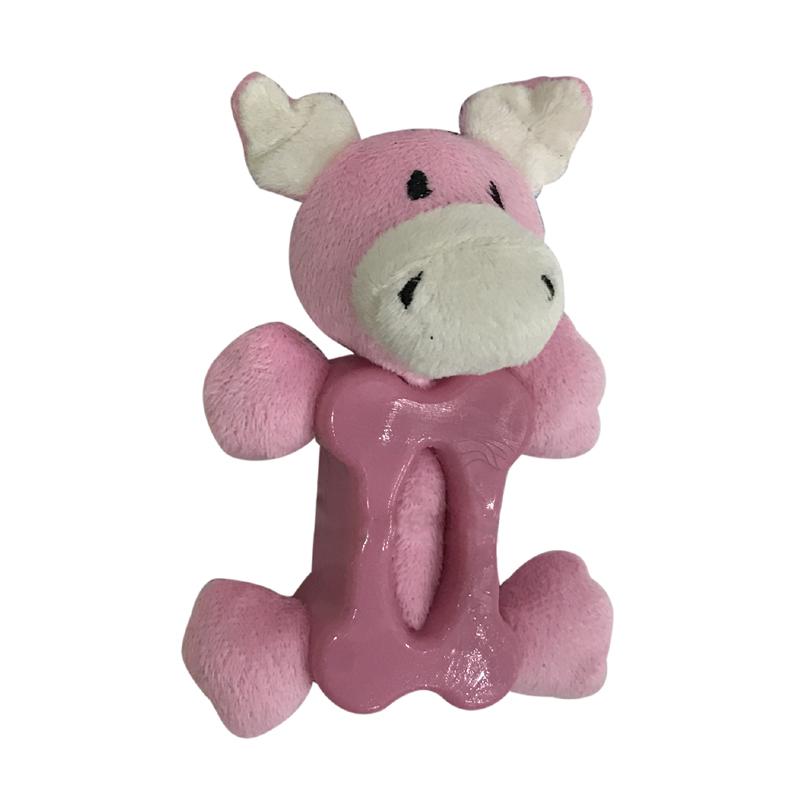 Игрушка для собак CHOMPER Mini Plush Коровка