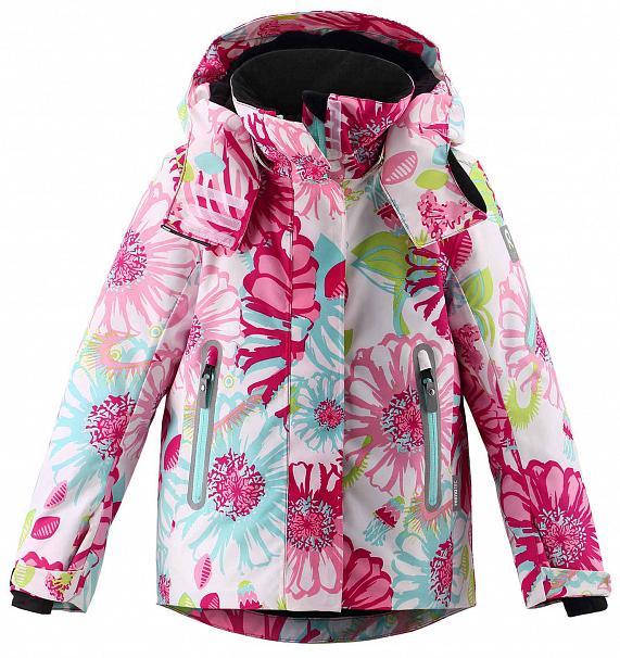 Куртка Горнолыжная Reima 2020-21 Roxana Raspberry Pink (Рост:104)