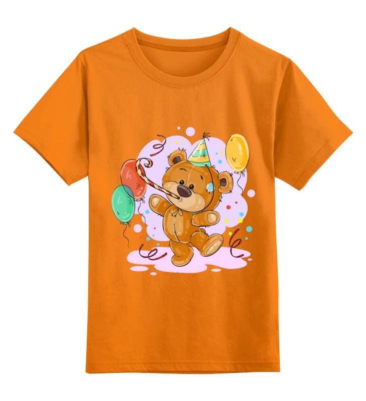 Детская футболка Printio Мишка тэдди цв.оранжевый р.152 0000002431838 по цене 990