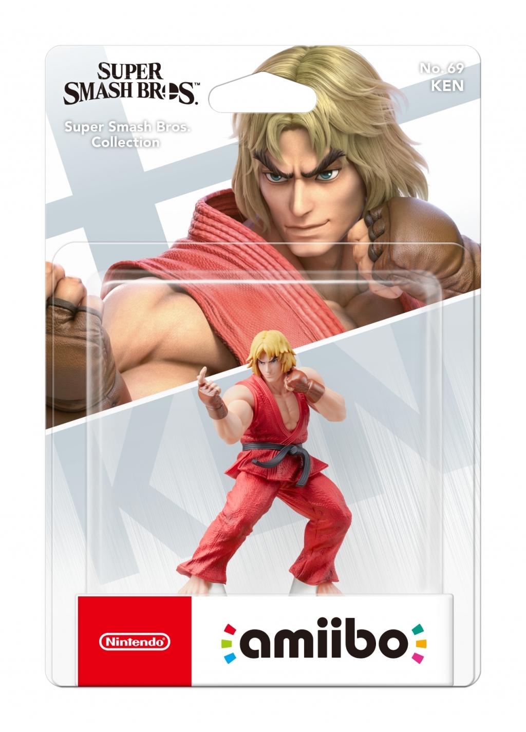 ФигуркаAmiiboКен(коллекцияSuperSmashBros.)для Nintendo