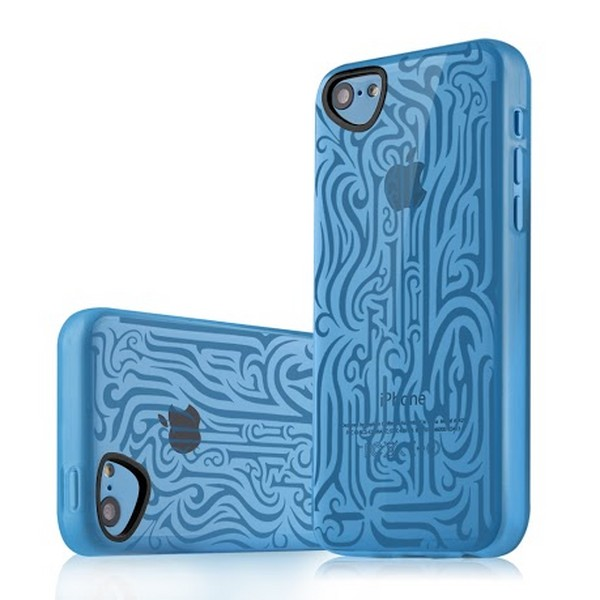 Чехол Itskins для iPhone 5C Blue фото