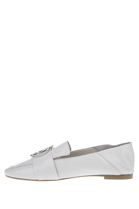 Лоферы женские Jonak 6000556 белые 36 FR
