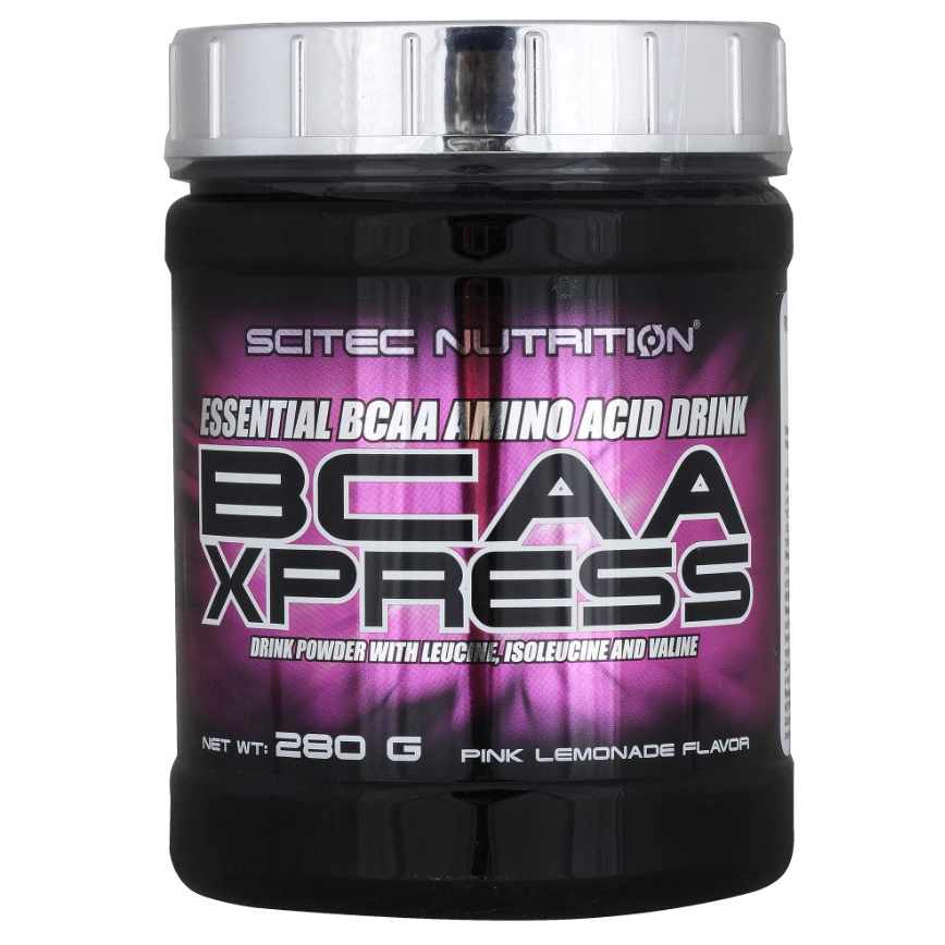 Scitec Nutrition Аминокислоты BCAA Xpress, 280 г, вкус: розовый лимонад