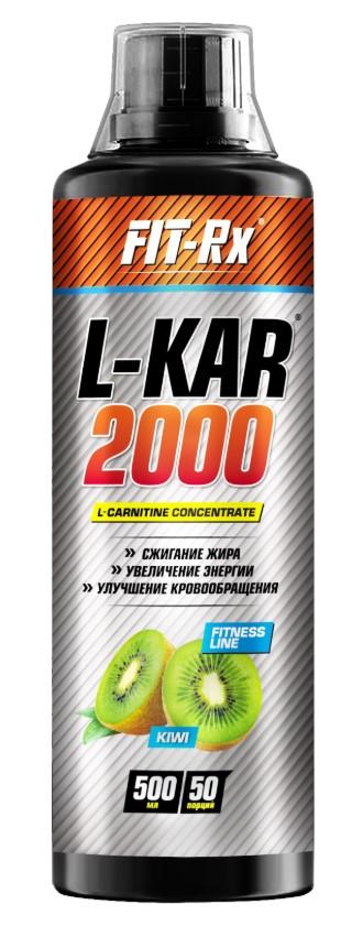 FIT-Rx L-Kar 2000, 500 мл, вкус: киви фото