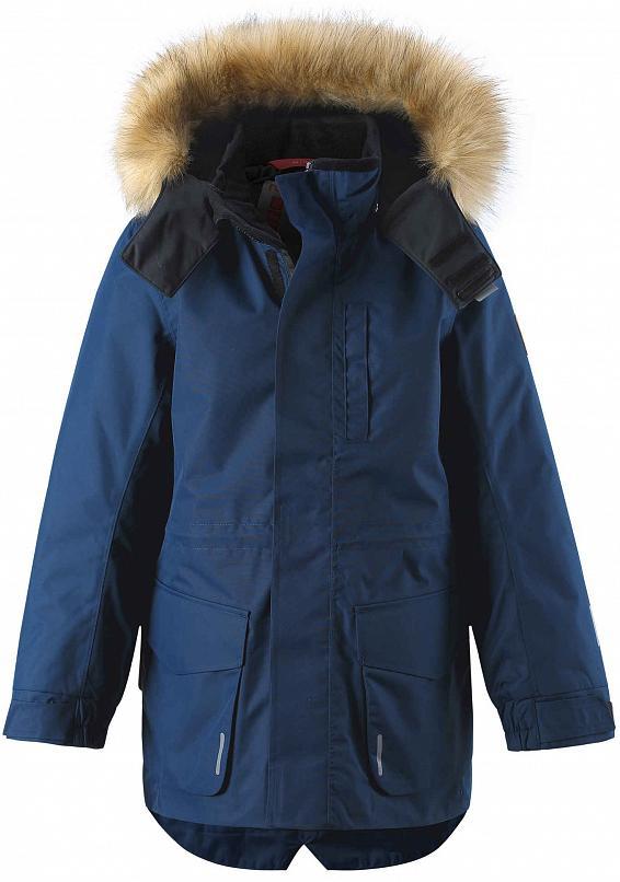 Куртка Горнолыжная Reima 2020-21 Naapuri Navy (Рост:164)
