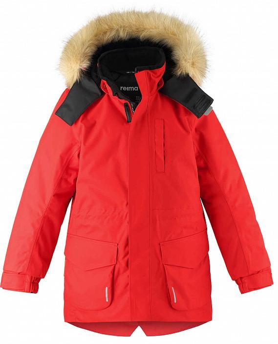 Куртка Горнолыжная Reima 2020-21 Naapuri Tomato Red (Рост:158)