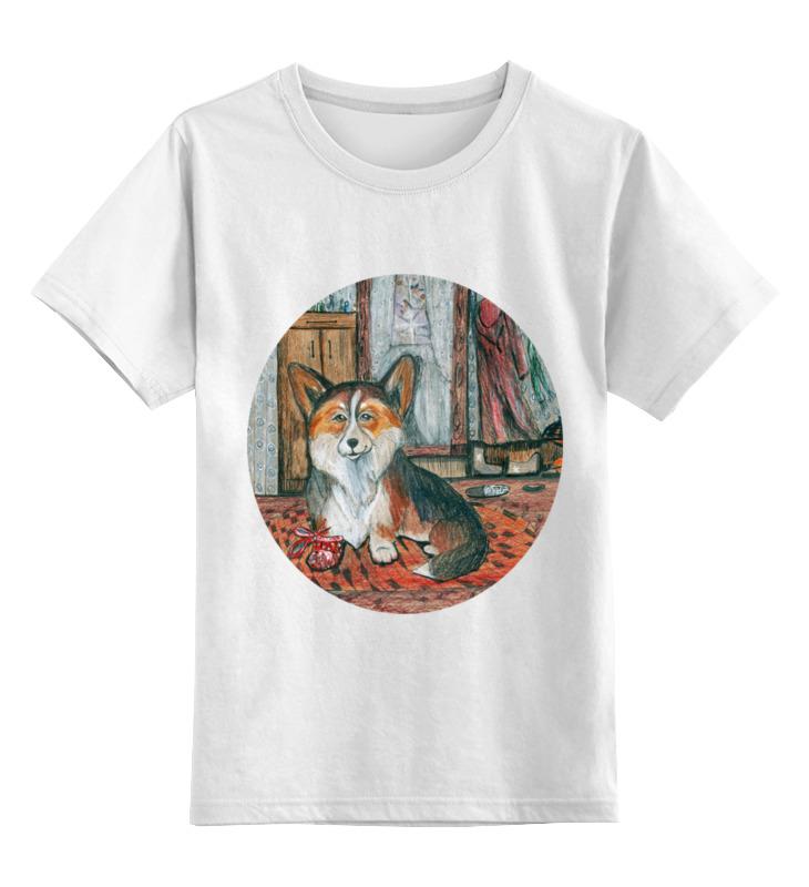 Детская футболка Printio Мой друг цв.белый р.140 0000002640090 по цене 790