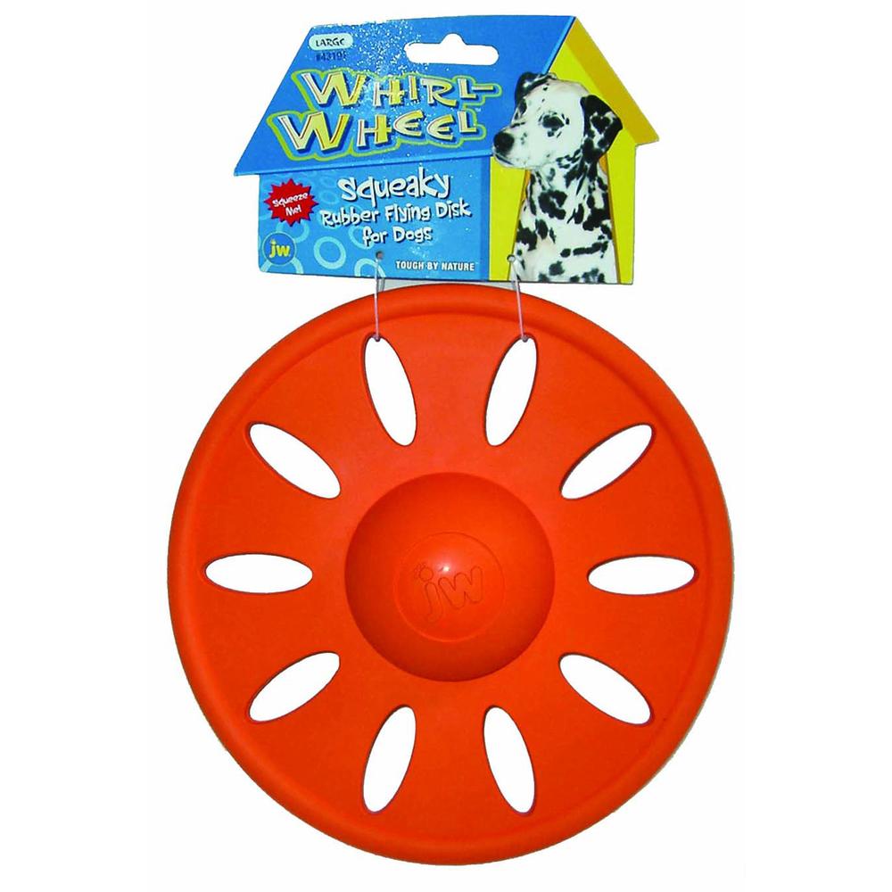 Апорт для собак JW Whirl Wheel Large,