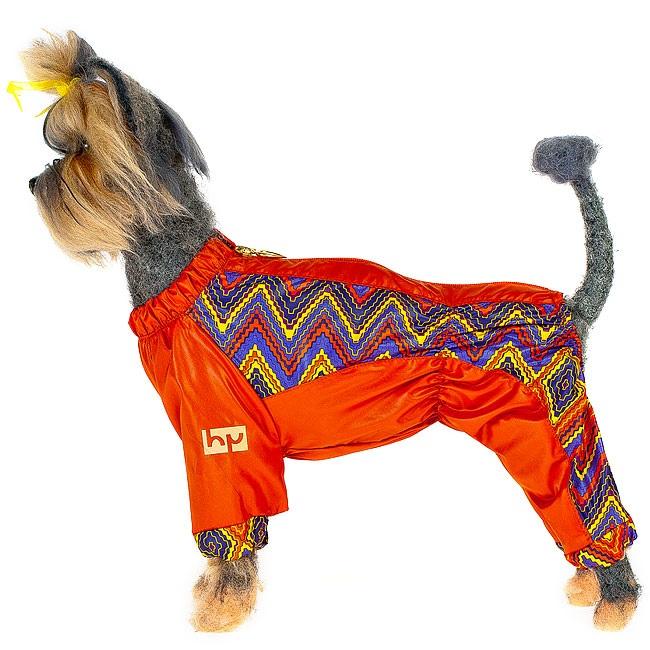 Комбинезон для собак Happy Puppy Радуга без подкладки женский размер M (2).