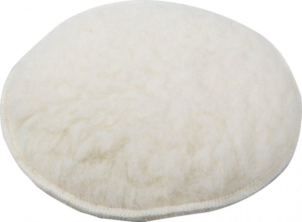 Круг меховой для угло, полировальных шлифмашин Зубр