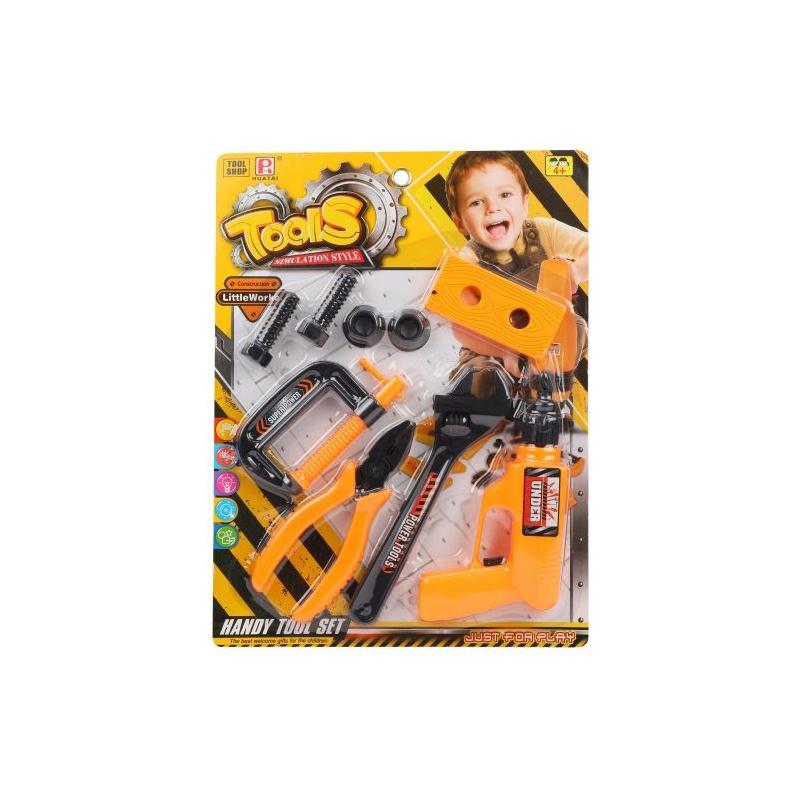 Набор инструментов Наша игрушка 9 предметов