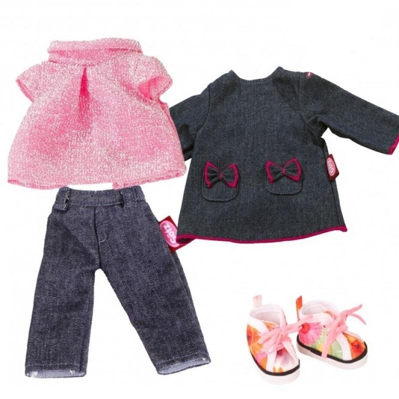 Купить Набор одежды для кукол Gotz Маст Хэв из денима, 27 см, Одежда для кукол