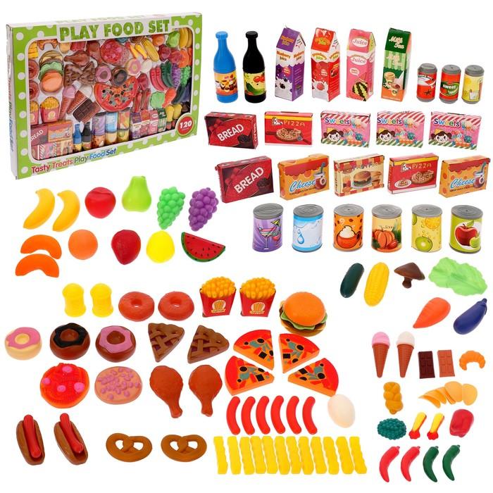 Купить Набор продуктов Sima-Land Гурман, 120 предметов, Игрушечные продукты