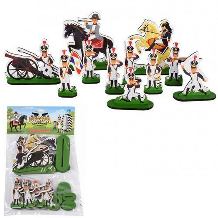 Купить Набор солдат МЕГА ТОЙС Наполеон с аксессуарами, 24 предмета, Mega toys, Игровые наборы