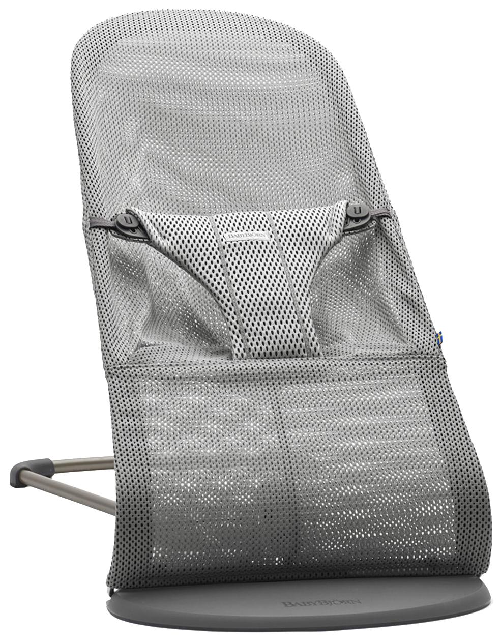 Кресло шезлонг Baby Bjorn Bliss Mesh серый