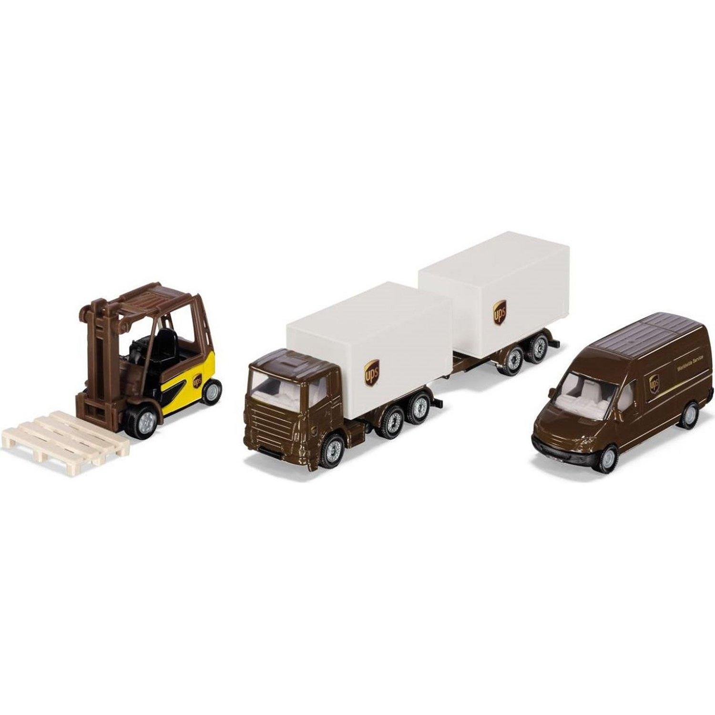 Набор транспорта Siku Служба доставки UPS
