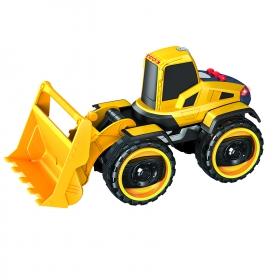 Купить Набор фрикционных машин Handers Большие колеса Самосвал и бульдозер, 22 см, Строительная техника
