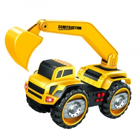 Купить Набор фрикционных машин Handers Большие колеса Самосвал и экскаватор, 22 см, Строительная техника