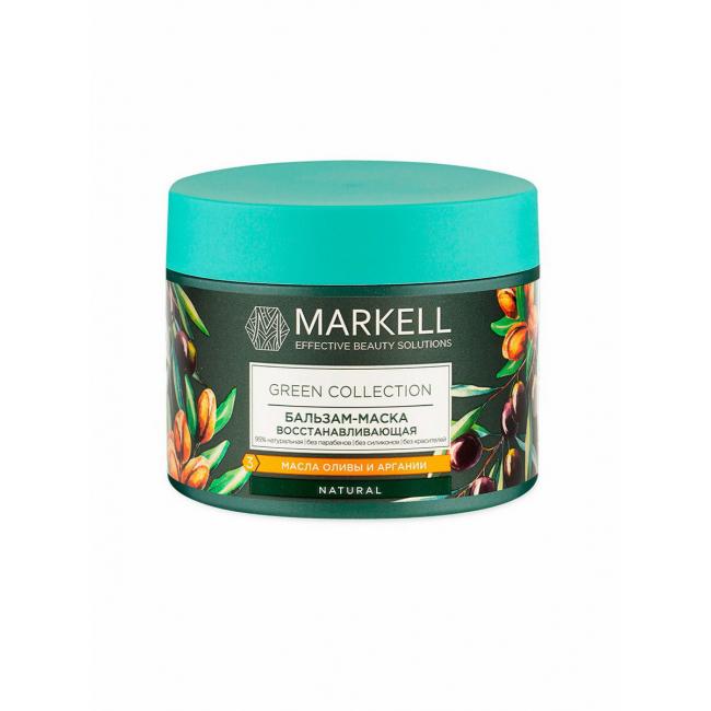 Купить Бальзам-маска для волос Markell Green Collection , восстанавливающая, 300 мл
